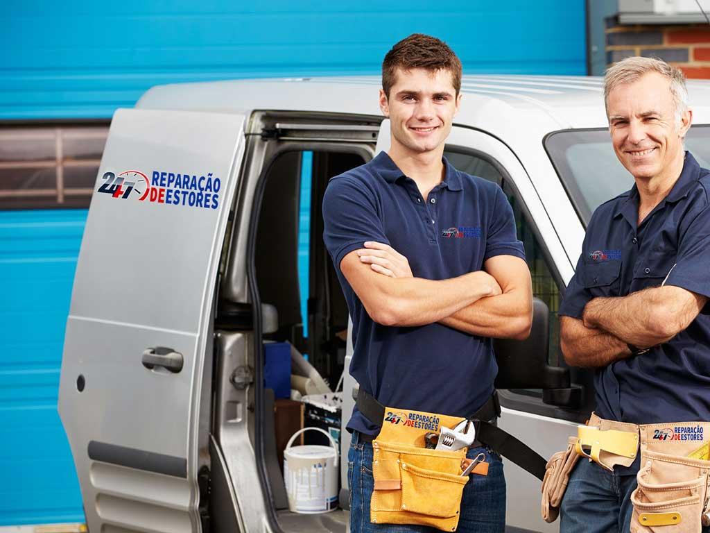 Técnicos Qualificados em Reparação de Estores - Serviço técnico de estores Carregado